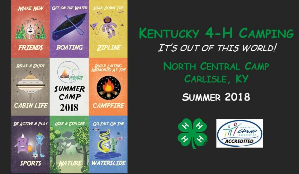 4-H Camp...Coming Soon!