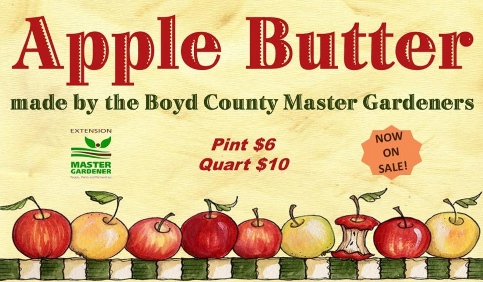 Apple Butter ON SALE NOW!