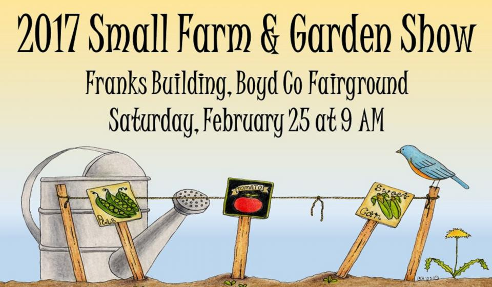 Small Farm and Garden Show, February 25