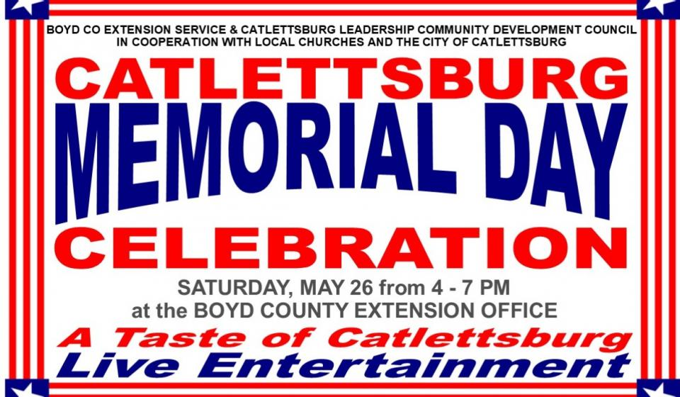 A Taste of Catlettsburg, May 26