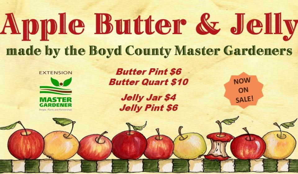 Apple Butter & Jelly ON SALE NOW!