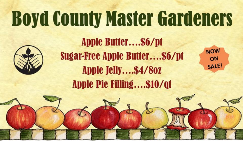 Apple Butter, On Sale Now!